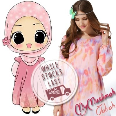 *New Designs* Local Instocks Fashionable Jubah Clothings Malay Muslimah Dresses MyMuslimah