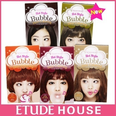 (Etude House)HOT Style BUBBLE Hair Coloring-Type 8 colors【LOW PRICE・KOREA COSMETICS】