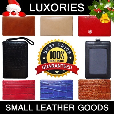 ★ Small Leather Goods ★ Wallets Card Holders Passport Travel Covers Keys Pouch ID Lanyards Cases Purses Bags Corporate Christmas Gift Present