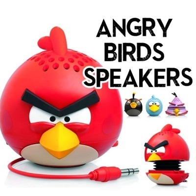 100% Authentic Angrybird speakers