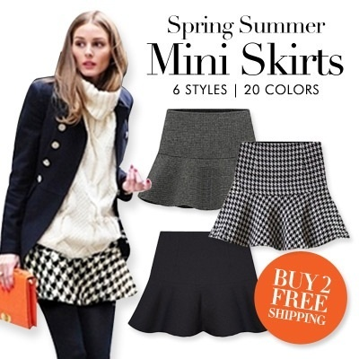 #1 Local Seller Limited Time Offer! Fashions of Summer Spring Mini skirts