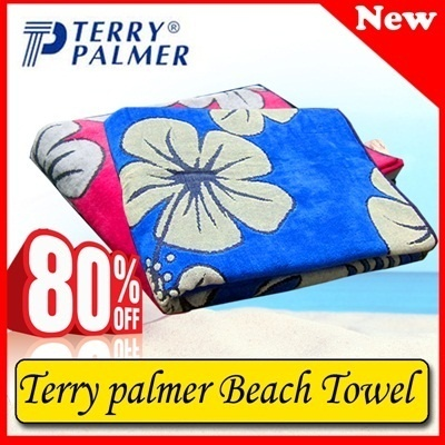 promo handuk terry palmer discount 80% beach towel