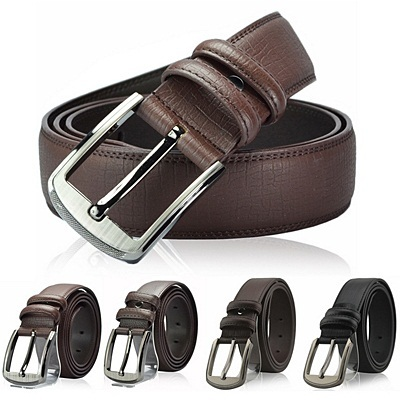 OE004 Mens genuine cowhide leather belts / belt / mens fashion point items