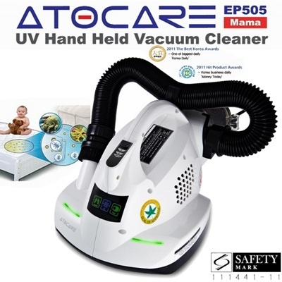 ATOCARE EP-505 Mama Anti Dust Mite Bacteria Allergy UV Vacuum Cleaner