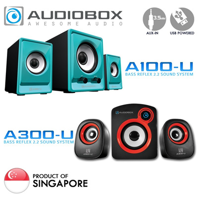 AUDIOBOX A100-U High Performance Bass Audio Speaker