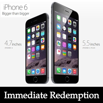 APPLE iPhone 6 / 6 Plus with Immediate stocks for collection !!! Case and Screen Protector Included !!!