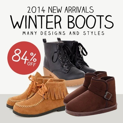 2014 Winter Boots Fashionable Women British Styles Shoes Furry Warm Boots