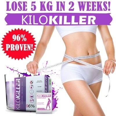 *LATEST FORMULA* KiloKiller the ULTIMATE slimming diet weapon against excess kilos!