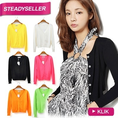 BASIC CARDIGAN_40 CANDY COLORS_AVAILABLE SIZE S-XL_High Quality Material_Basic Tee_Womans Tee