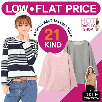 ★15% Off STOREWIDE for Purchases Over $15!★korea new style★[darllyshop]  Korea Open Market Best Selling tee/ knit/ blouse / 42nd5