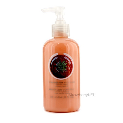 The Body Shop Strawberry Body Puree 250ml/8.4oz