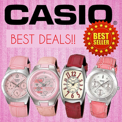 CASIO Fashion Series Watch Colorful and cute design for ladies