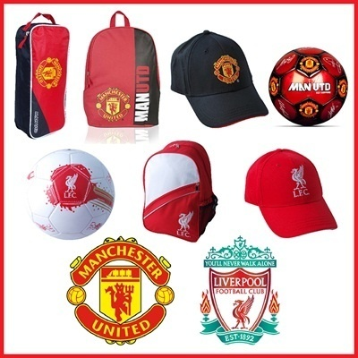 Official Manchester United / Liverpool Merchandises - Caps Football Bag Shoe Bag (Local Merchant - Fast Delivery!) *Tiered Pricing