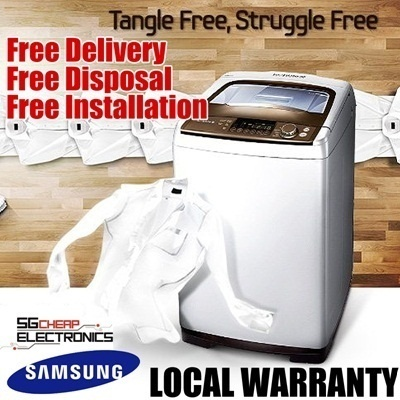SAMSUNG 7.5kg Top Load Washing Machine (WA95W9)- WARRANTY 2 years Parts and labour and 5 years motor