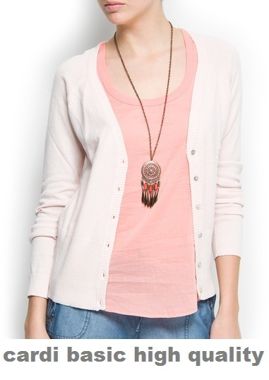 ★ Super Best Price !!! ✿  Cardigan Basic ✿ 30 Colours ★ Select your favorite Colour ★