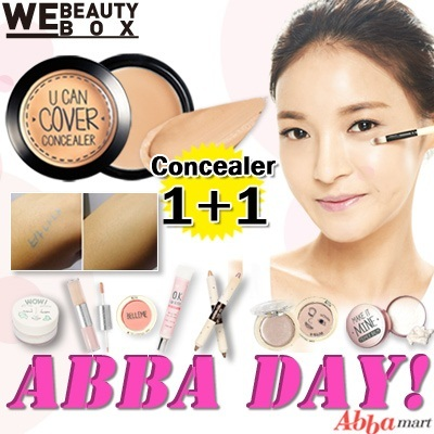 [Big Event ABBA DAY!] Abba mart special day★Concealer1+1 /  Blusher / Dual Stick Shadow / Highlighter / Oil catching finisher /  Brightner+Primer / PINK GLOW BASE / PRIMER BALM / Make up Brush