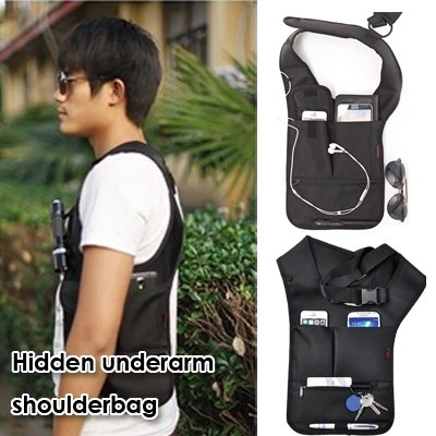 ▶Loss Prevention Hidden Underarm Shoulder Bag◀ Keep your precious goods、 Good loss prevention solution in anytime anywhere