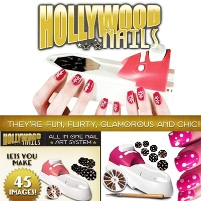 [New Arrival] Hollywood Nails - All In One Finger Nail Art System - Salon Quality Designs - Perfect
