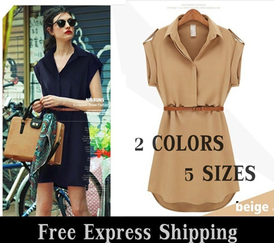 Popular Ladies Chiffon Style - Work / outing Dress FIR-005