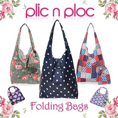 [Plic n Ploc] Book Bag Set Folding Market Bag Shopping Bag Eco Tote-Bag Shoulder Bag (58 Colors)