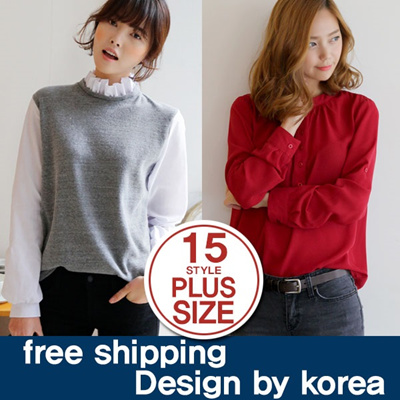 [darllyshop]Korea Open Market Best Selling bluse 1