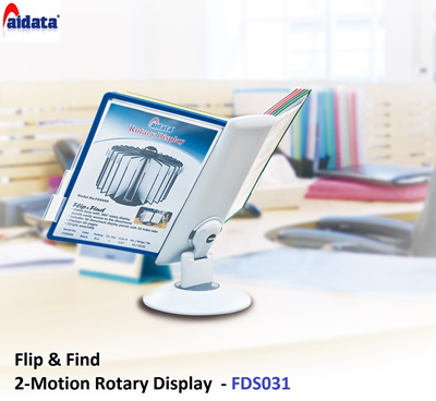 AIDATA FLIP n FIND for Presentation Menu Quick Information Easy and Simple Information