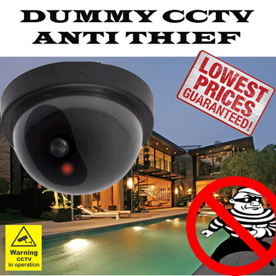 ★LOWEST PRICE★DUMMY CCTV★EASY USE★ANTI THIEF★