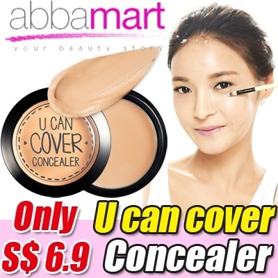 U can cover Concealer★2 color(2.5g)only $6.9/ free shipping/Eyeliner/Foundation/cc cream