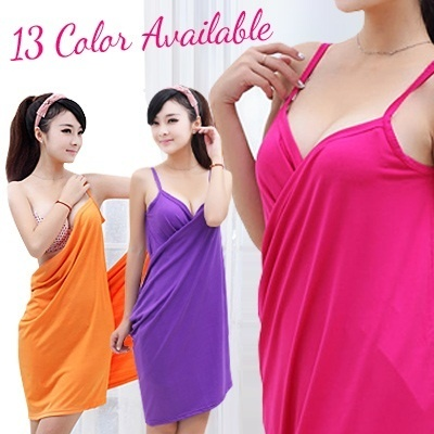 ▶Attractive Sexy Bath & Beach Skirt◀GAB-Hot Selling in Korea&JAPAN-Soft Spandex/Can Wearing Towel&No Slip Off/ Bath towel skirt