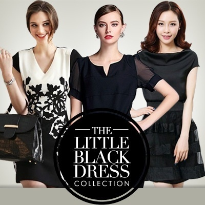 [Buy 2 free shipping] S - 6XL The Little Black Dress OL black Work Dress Code Korean Style UK Style