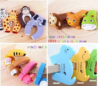 Safety Door Stopper with Cute designs / Gift