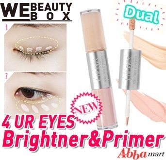 [59% OFF Special Deal Price] Dual 4 UR EYES Brightner+Primer 8g ★Under Eye Brightner/ EYE MAKEUP it ITEMS / Eye Brightner Perfect Primer /