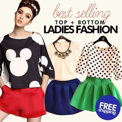 *Free Shipping*2014 Top+Bottom Ladies Fashion  European and American women clothes / suits / 2 set / 3 set