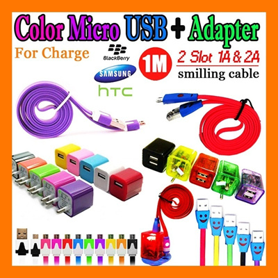 [GREAT SALE ITEM] COLOR USB CHARGER for BlackBerry/Samsung/HTC | Available More Colors