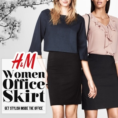 SUPER SALE!✿HnM Woman Office Skirt✿New Collection✿Branded Skirt✿Office Look✿3Colors✿