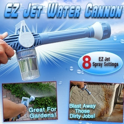 ★As Seen On TV★Ez Jet Water Cannon |With 8 spray setting