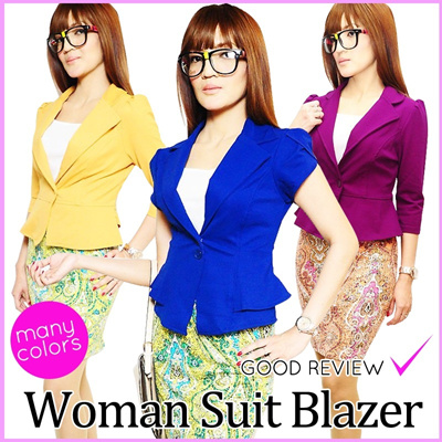 HOT ITEM !!!★★ WOMEN SUIT BLAZER ★★ CASUAL AND ELEGANT ★★