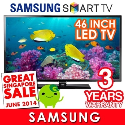 [SUPER SALE]Samsung 46 inch Smart LED TV UA46F5500! Guaranteed Cheapest. Usual: $1299