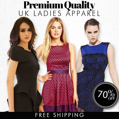 [NEW ARRIVAL] - UK European style High Premium Quality Work Office Party Formal Dresses - S to XL - Free Shipping