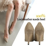 [blingbling chou] ☆ real italy leather..natural cowhide trend pumps and booties ☆ handmade shoes Wal