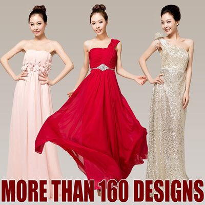 Super Glamorous Bridesmaid Formal Evening Gown Prom Dress for Party Dinner and Dance