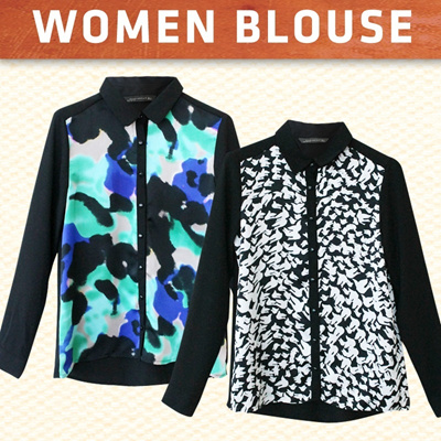 !!NEW STYLE ADDED!! **Branded blouse cute longsleeve blouse**