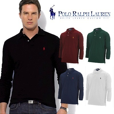 Polo Ralph Lauren Custom-fit long sleeved t shirts