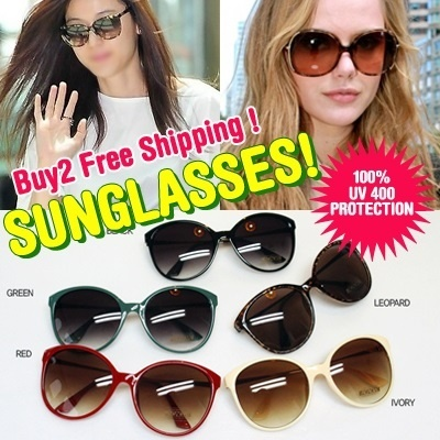 ★BUY 2 FREE SHIPPING! 3+1! Sunglasses★Designer Style/Unisex/UV400/K-Pop Style/Glasses/Korea