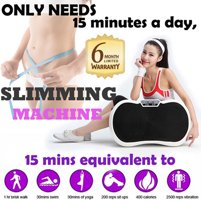 U-shape Shake Slimming Machine* Fats Reducing Equipment* Vibration Shaper* Power Body Vibration Plate Device* uShaper/Tone Shape Board* Local Seller Ready Stock*