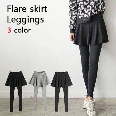 [Made in Korea] comfy skirt legings/3color/stylish/slim fit/span leggings/ba822