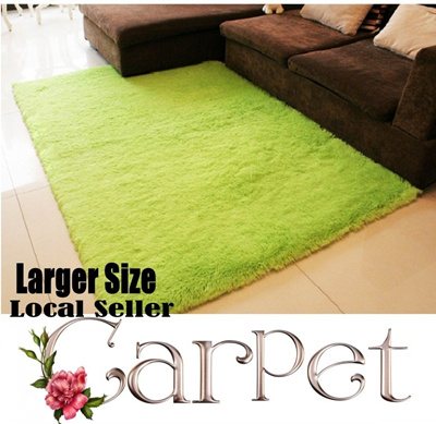 Pleuche Carpet/ High Quality / Lots of Colour Options / Stock in SG / Different Sizes caters to Different Needs