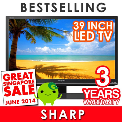 Hari Raya Special [Cheapest in Singapore] - 32-Inch to 39-Inch LED TV with 3-Year Local Warranty Limited Sets !!!