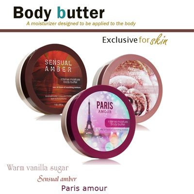 BODY BUTTER Bath and Body Works