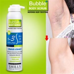 Original Shills Bubble Body Scrub★ SHlLLS 搓掉黑穴角质3mins雪泡[美体专用]